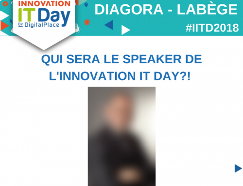 Mais qui sera le speaker de l'Innovation IT Day ?!