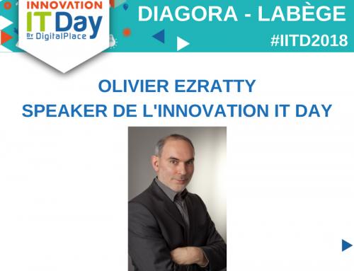 Olivier Ezratty sera le speaker de l'IITD, le 17 mai prochain !