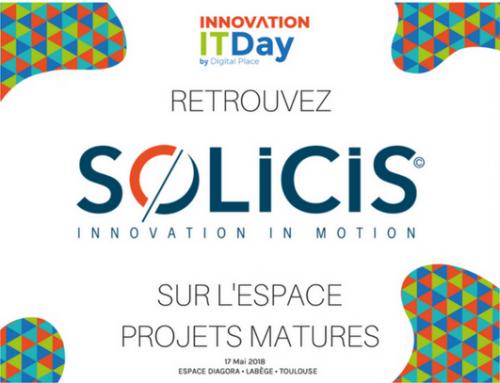 Retrouvez Solicis, la 17 mai prochain lors de l'Innovation IT Day