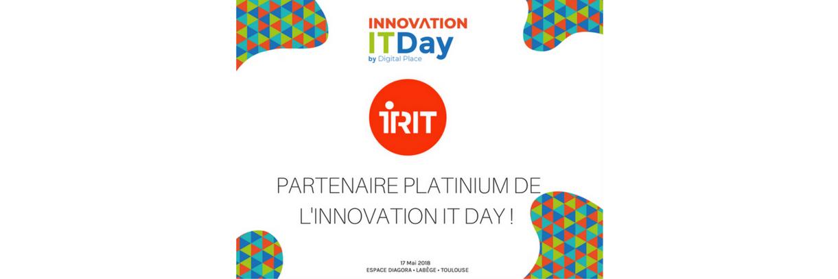 Retrouvez l'IRIT sur l'espace Projets Matures, le 17 mai !
