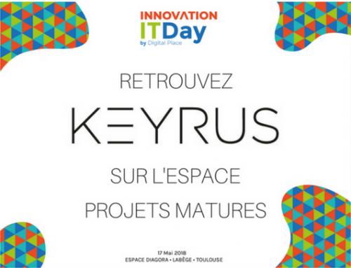 Retrouvez Keyrus lors de l'Innovation IT Day !